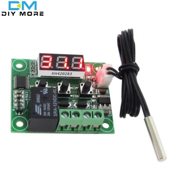 w1209 led digital thermostat