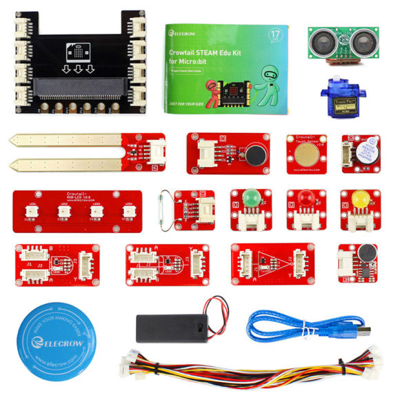 Komponenter i micro:bit Edu kit
